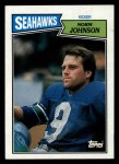 1987 Topps #179  Norm Johnson  Front Thumbnail