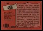 1987 Topps #106  Garin Veris  Back Thumbnail