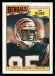 1987 Topps #190  Tim McGee  Front Thumbnail