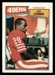 1987 Topps #114  Joe Cribbs  Front Thumbnail