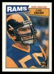 1987 Topps #155  Carl Ekern  Front Thumbnail
