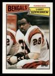 1987 Topps #187  Larry Kinnebrew  Front Thumbnail