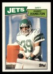 1987 Topps #141  Harry Hamilton  Front Thumbnail