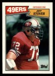 1987 Topps #119  Jeff Stover  Front Thumbnail