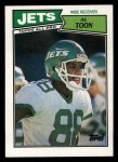 1987 Topps #131  Al Toon  Front Thumbnail