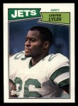 1987 Topps #142  Lester Lyles  Front Thumbnail