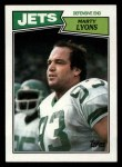 1987 Topps #137  Marty Lyons  Front Thumbnail