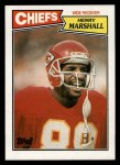 1987 Topps #163  Henry Marshall  Front Thumbnail