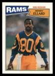 1987 Topps #150  Henry Ellard  Front Thumbnail