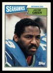 1987 Topps #180  Jacob Green  Front Thumbnail
