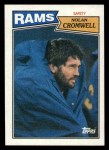 1987 Topps #159  Nolan Cromwell  Front Thumbnail