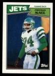 1987 Topps #129  Freeman McNeil  Front Thumbnail