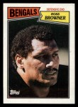 1987 Topps #195  Ross Browner  Front Thumbnail