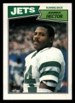 1987 Topps #130  Johnny Hector  Front Thumbnail
