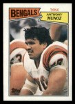 1987 Topps #192  Anthony Munoz  Front Thumbnail