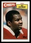 1987 Topps #166  Irv Eatman  Front Thumbnail