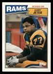 1987 Topps #154  Gary Jeter  Front Thumbnail