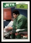 1987 Topps #128  Pat Ryan  Front Thumbnail