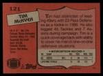 1987 Topps #121  Tim McKyer  Back Thumbnail
