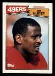 1987 Topps #121  Tim McKyer  Front Thumbnail