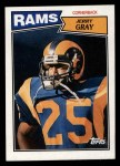 1987 Topps #157  Jerry Gray  Front Thumbnail