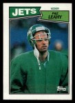 1987 Topps #134  Pat Leahy  Front Thumbnail