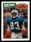 1987 Topps #237  Mark Clayton  Front Thumbnail