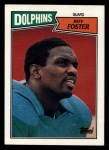 1987 Topps #241  Roy Foster  Front Thumbnail