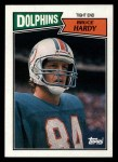1987 Topps #239  Bruce Hardy  Front Thumbnail