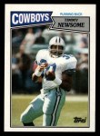 1987 Topps #265  Timmy Newsome  Front Thumbnail