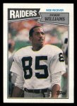 1987 Topps #217  Dokie Williams  Front Thumbnail