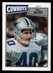1987 Topps #270  Bill Bates  Front Thumbnail