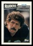 1987 Topps #218  Todd Christensen  Front Thumbnail