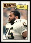 1987 Topps #281  Bruce Clark  Front Thumbnail
