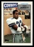 1987 Topps #263  Tony Dorsett  Front Thumbnail