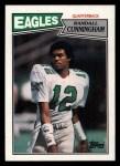 1987 Topps #296  Randall Cunningham  Front Thumbnail