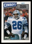 1987 Topps #271  Michael Downs  Front Thumbnail