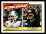 1987 Topps #230   -  Tony Franklin / Kevin Butler Scoring Leaders Front Thumbnail