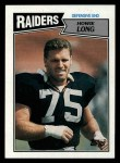 1987 Topps #220  Howie Long  Front Thumbnail
