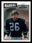 1987 Topps #225  Vann McElroy  Front Thumbnail