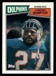 1987 Topps #234  Lorenzo Hampton  Front Thumbnail