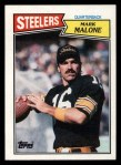 1987 Topps #284  Mark Malone  Front Thumbnail