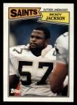 1987 Topps #279  Rickey Jackson  Front Thumbnail