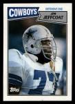 1987 Topps #268  Jim Jeffcoat  Front Thumbnail