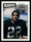 1987 Topps #224  Mike Haynes  Front Thumbnail