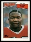 1987 Topps #253  Arthur Cox  Front Thumbnail
