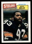 1987 Topps #290  Keith Willis  Front Thumbnail