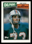 1987 Topps #247  Bob Baumhower  Front Thumbnail