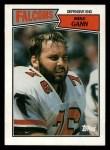 1987 Topps #256  Mike Gann  Front Thumbnail