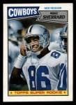 1987 Topps #267  Mike Sherrard  Front Thumbnail